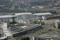 Hallo Muensterland, exhibition_, congress and event centre southeast of the city centre, Muenster, North Rhine_Westphalia, Germany, Europe