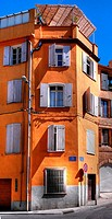 Building in Perpignan, Pyrenees-Orientales, Languedoc-Roussillon, France