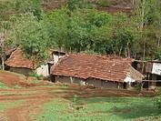 Traditional rural house, India