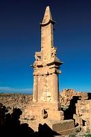 ruins of Sabratha, Libya, Sahara