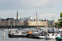 View of the historic centre, Stockholm, Sweden, Scandinavia, Europe