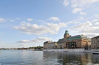 View of Blasieholmen, Stockholm, Sweden, Scandinavia, Europe
