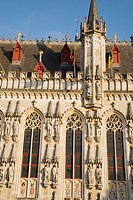 Town Hall, Bruges, Belgium, Europe