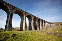 Ribblehead viaduct, North Yorkshire, England, UK , on the Settle-Carlisle railway line