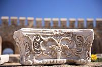 Castle at Bozcaada city, Aegean Sea, North Aegean, Turkey, Canakkale area