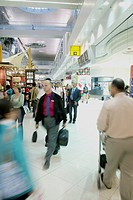 people on the airport of Dubai, Dubai