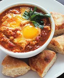 Huevos Rancheros with Bread