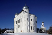 St George´s cathedral (1119), St. George´s (Yuriev) Monastery, Novgorod Oblast, Russia