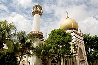Sultan Mosque, Arab Street District, Singapore, Asia