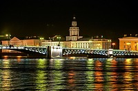 at night, Russia, Saint Petersburg