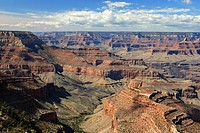 Grand Canyon, view from Grandview Point to Walhalla Plateau, USA, Arizona, Grand Canyon NP