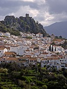 View at Gaucin, Costa del Sol, Spain, Andalusia