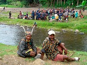 meeting, Papua New Guinea