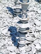 porcelain cullets, Ronneburg
