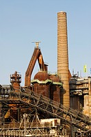 Voelklingen Ironworks, Germany, Saarland, Voelklingen