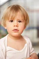 2 year old boy in a shirt