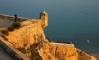 Castle of Santa Barbara, Alicante  Comunidad Valenciana, Spain