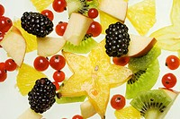 Different kinds of fruit, fruit salad