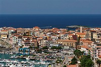 Cilento  Italy  The small coastal town of Marina di Camerota