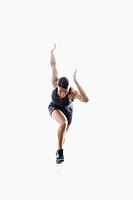 African American woman runner