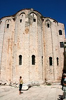 Donatus church, Croatia, Dalmatien, Zadar