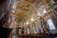 cloister Fuerstenfeld, chloister church St. Maria, Germany, Bavaria, Fuerstenfeldbruck