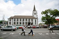 St. Andrew´s Presbytery, eighteenth_century wooden church building, Georgetown, Guyana, South America