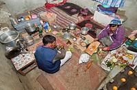 trekking cook, Markha valley, India, Jammu und Kaschmir, Ladakh