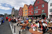 Brygge restaurant, Bergen, Norway, Scandinavia, Europe