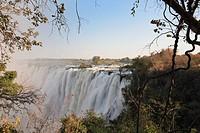 Africa, Zimbabwe, Victoria falls