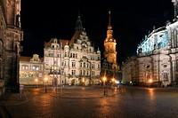 Dresdener place, Germany, Saxony, Dresden