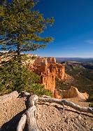 USA, Utah, Bryce Canyon National Park, from Paria Viewpoint