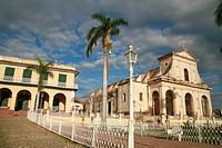 Iglesia de la Santisima, church in Trinidad, Cuba, Caribbean, Americas
