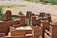 Maroc, Haut Atlas, Province de Ouarzazate, Ksar d´Aït-Ben-Haddou, classé Patrimoine Mondial de l´UNESCO