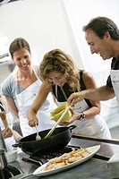 Aula de Cuina culinary school specializing in Catalonian cuisine, cooking class in Calella de Palafrugell, Costa Blanca, Catalonia, Spain, Europe