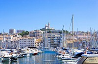 Vieux Port in Marseille, Provence_Alpes_Cote d'Azur, France