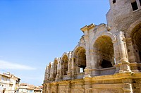 Antique Roman amphitheater's in Arles, Provence_Alpes_Cote d'Azur, France