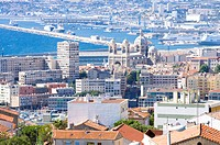 City View in Marseille, Provence_Alpes_Cote d'Azur, France