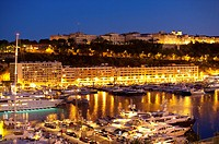 Harbor in Monaco (thumbnail)