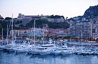 Harbor in Monaco