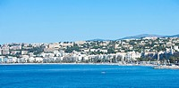 Beach and Coastline in Nice, Provence_Alpes_Cote d'Azur, France, Europe