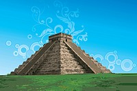 Mexico, Chichen Itza, Pyramid, UNESCO, World Cultural Heritage
