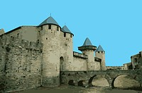 France, Carcassonne, UNESCO, World Cultural Heritage