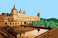 Spain, Madrid, El Escorial, Capital Cities, UNESCO, World Cultural Heritage