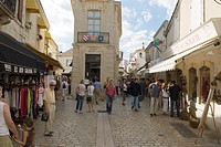 Baroncelli Museum, shopping district in the centre of Saintes-Maries-De-La-Mer, Camargue, South of France