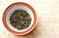 Tea leaves,
