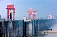 China, Yangtze River, Three Gorges, Three Gorges Dam