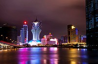 China, Macou, Nightlife
