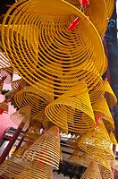China, Macou, A_Ma Temple, Incense Coils, UNESCO, World Cultural Heritage