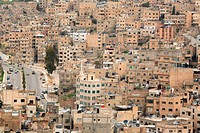 view on Amman, Jordan